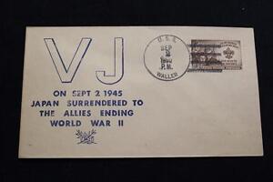 Navale-Cover-1950-Nave-Cancel-5TH-Anniversario-V-J-Giorno-Uss-Waller-DDE-466