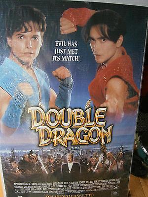 Authentic Movie Poster 1994 Double Dragon Scott Wolf Robert