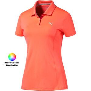 Puma-Golf-Women-039-s-Pounce-Polo-Shirt-Pick-Size-amp-Color
