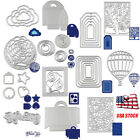 Metal Cutting Dies Stencil DIY Scrapbooking Embossing Album Paper Card Craft US