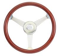 All Years Chevy Truck W/ Gm, Ididit Column 15 True Banjo Steering Wheel Kit