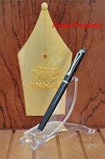 FOUNTAIN PEN BLACK JINHAO 301 CLASSIC STYLE  FINE 18KGP NIB  UK STOCK x 1
