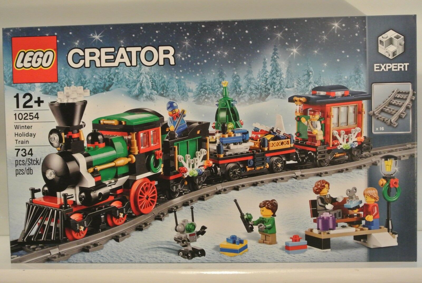 LEGO 10254 Creator - Winter Holiday Train - Great Christmas Present - BNISB