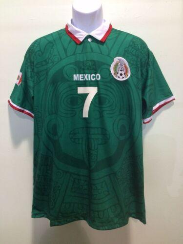 mexico jersey world cup 1998 ramon ramirez seleccion mexicana chivas america