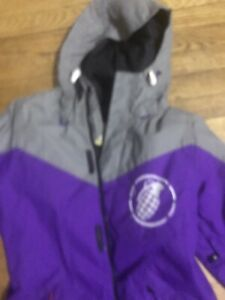 Grenade  Standard Issue Fatigue Project Purple Winter Snowboard Jacket Size M