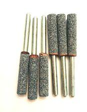 Chain Saw Sharpening Grinding Stone Bit Unthreaded Dremel 453 454 455 6 Pieces
