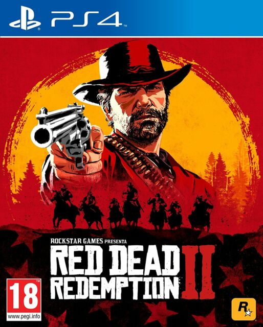 PS4 PLAYSTATION 4 RED DEAD REDEMPTION II 2 NUOVO DVD UFFICIALE ITALIANO SIGILLAT