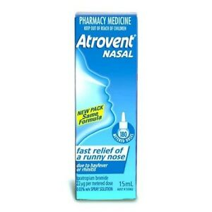 Atrovent Nasal Spray .06