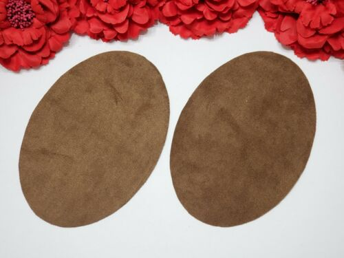 Chocolate Brown Set of 2 Iron On Elbow Patches
