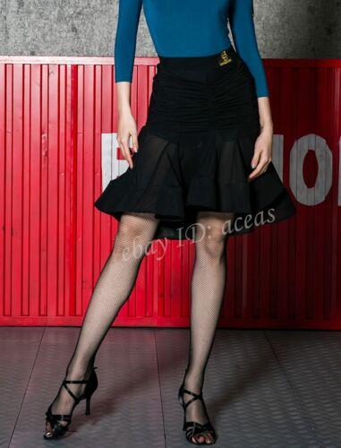 Womens Latin Practice Dance Dress Tops Skirts Suits Rumba Samba Cha Cha Ballroom