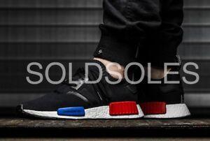 427833195 Image is loading Adidas-Originals-NMD-Runner-OG-2017-Lush-Red