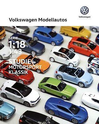 Fein Volkswagen Modellautos Katalog 2016 5/16 Modellauto Katalog Prospekt Catalog Vw