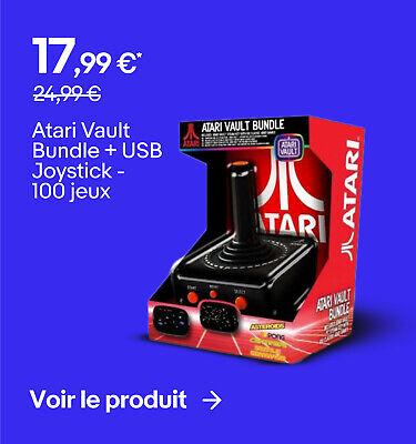 Atari Vault Bundle + USB Joystick - 100 jeux - 17,99 €*