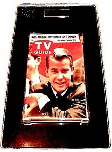 TV-Guide-1960-Dick-Clark-GAI-Graded-NM-VTG-Magazine-Movie-Photo-Press-Rare-1953