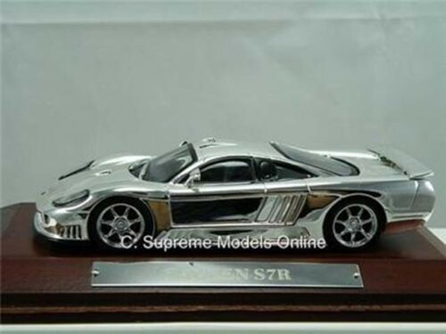= Saleen S7R Coche Deportivo modelo de escala 1//43RD acabado chapado en menta en caja Racing