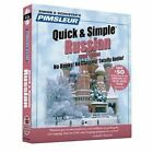 Pimsleur Russian Quick & Simple Course - Level 1 Lessons 1-8 CD Learn to Speak