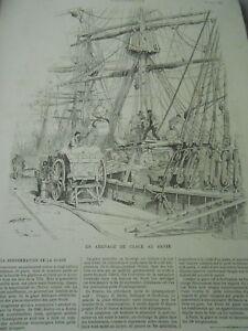 Un-Llegada-de-Espejo-en-le-Havre-Grabado-1886