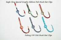 Eagle Claw Graphics Edition Fish Hook Hat Clip / Pin