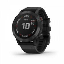 Garmin Fenix 6 Pro черные мультиспортивные GPS-часы с черной полосой 010-02158-01