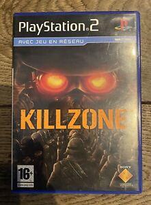 Jeu-Playstation-2-PS2-Killzone-PAL-Complet-Test-Ok