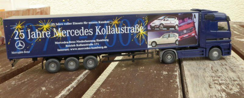 WIKING B 66000425 MB 1843 jubiliäums édition Container 25 Jahre MERCEDES H0,1 87