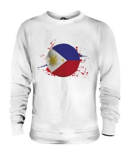 Philippines Football Unisexe Pull Cadeau Coupe Du Monde Sport