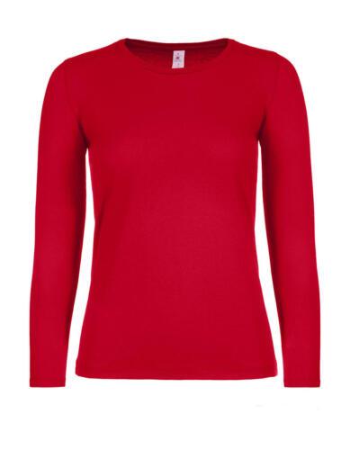 2er Pack Damen Longsleeve Shirt E150 B/&C Baumwolle XS-3XL Regular Fit TW06T NEU