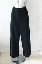 pantalon carotte en laine noire MAX MARA WEEK END taille 44  état neuf
