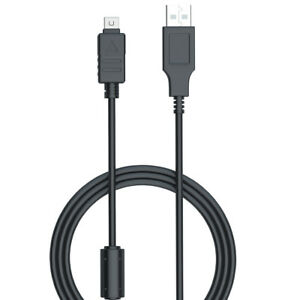 USB-DC-Battery-Charger-Data-SYNC-Cable-Cord-For-Olympus-Stylus-TG-830-iHS-Camera