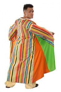 Adult-Men-039-s-Joseph-Technicolor-Dreamcoat-Colorful-Striped-Halloween-Costume-Coat
