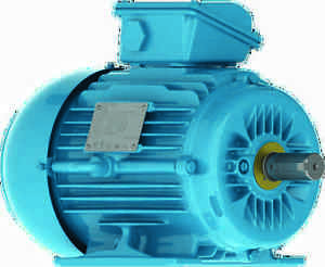 Weg 2 pole motor 3 phase 230 400v aluminium foot for Flange mounted motor catalogue