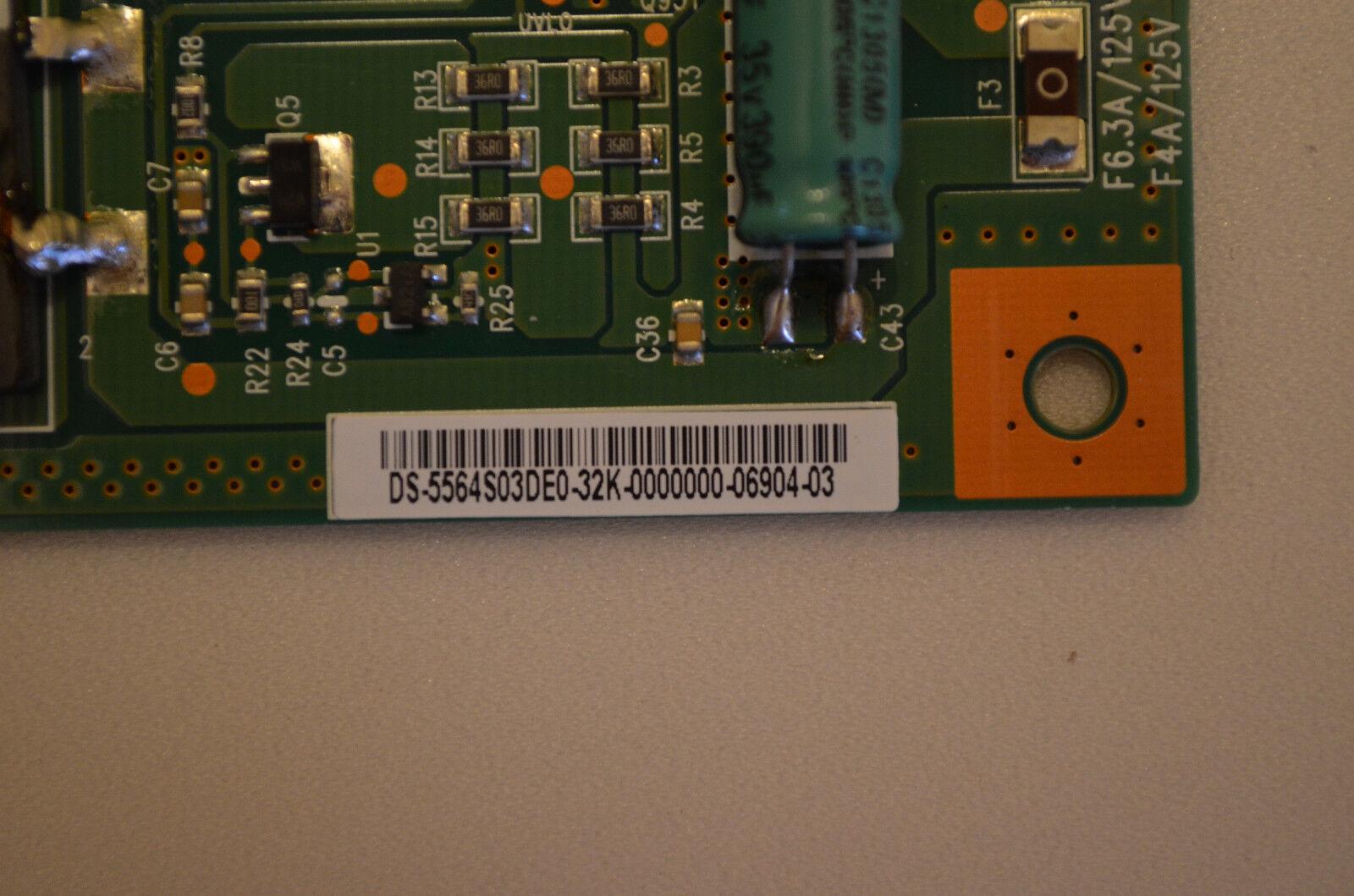VIZIO E650i-A2 4H+V3516.001 F6.3A//125V LED DRIVER