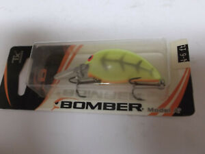 Older Bomber Model A,7A,DFY Faded Chartreuse,Orange Bomber Card Special