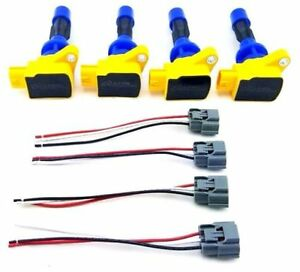 4 pcs 2006 2010 ignition coils wire harness repair kit mazda speed rh ebay com Wiring Harness Diagram Lt1 Wiring Harness