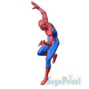 Sega-Premium-Size-Figure-Spiderman-Homecoming-Spider-Man-20cm-Statue-New