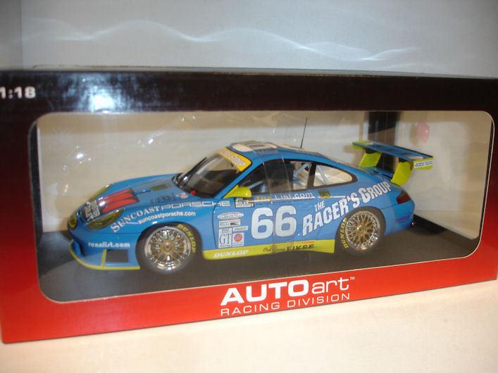 Porsche 911 gt3r 24 stunden von daytona gt - klasse 2002 gewinner