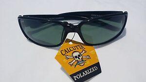 New Calcutta Polarized Savannah Sunglasses for Women Black Frame/Grey Lens