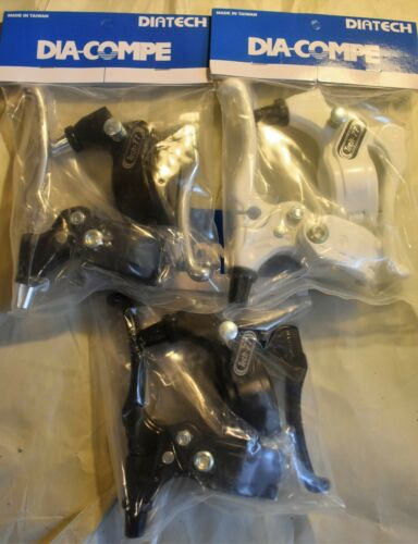 Dia Compe Tech 77 Brake Levers Pair for Old School BMX Cruiser Bike with Stop