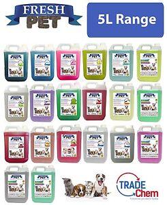 Fresh-Pet-Pet-Disinfectant-Deodoriser-250ml-eco-Refill-with-5L-empty-container