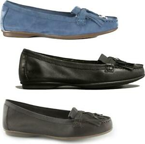 Hush-Puppies-NAVEEN-ROBYN-Ladies-Modern-Elegant-Formal-Comfy-Leather-Loafers