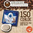 150 Cialde caffè BORBONE miscela BLU Filtro carta 44 ese