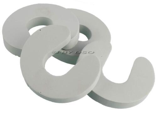 Tool-Tech 8 x Flexible Foam Door Guard Finger Protecto Child Safety UK STOCK