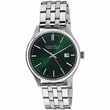 Caravelle New York Men's 43B130 Stainless Steel Watch