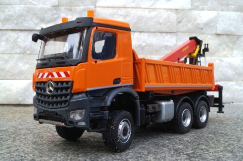 Auto- & Verkehrsmodelle Conrad Mercedes Benz Arocs Kipper mit ...