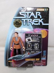 1997-STAR-TREK-Warp-Factor-Series-1-034-CONSTABLE-ODO-034-Action-Figure-IOP