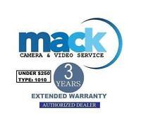 Mack 3 Year Us / International Warranty (1010) For Digital Camera Under $250