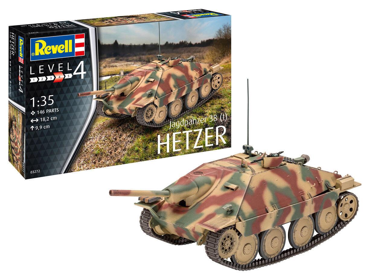 Tank 38 (T) Hetzer, Revell Solid Kit 1 3 5, Item 03272