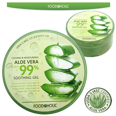 CALMING & MOISTURIZING Aloe Vera  purity 99% Soothing Gel 300ml / KOREAN MADE