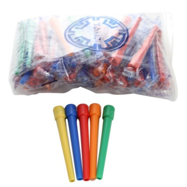 500 Pieces Tonic Extra Long Male Hookah Narghile Hose Mouth Tips