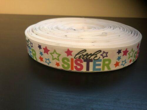 1m Little Sister 22mm Ribbon
